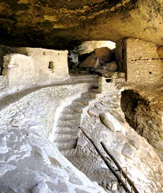Gila Cliff Dwellings New Mexico USA