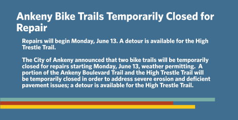 Ankeny Bike Closures